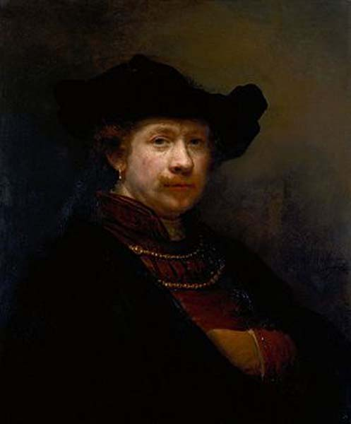 Rembrandt, Altman (Self-Portrait)