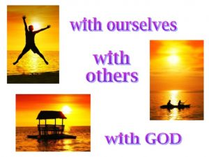 Ourselves, others and God