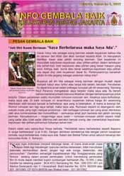 Info Gembala Baik KAJ, Edisi Ketiga 2012