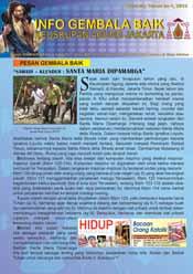 Info Gembala Baik KAJ, Edisi Kelima 2012
