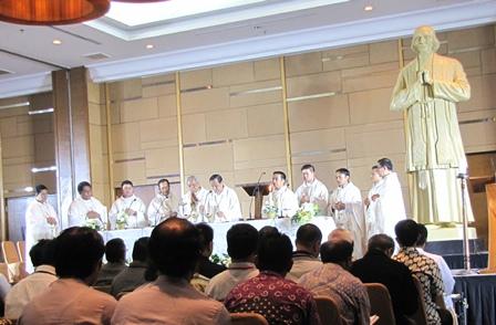 Misa Pembukaan Temu Unio Regio Jawa