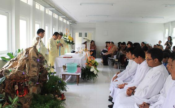 KLENDER, JAKARTA TIMUR: Samadi Menuju Pusat Pastoral KAJ, Pemberkatan Kampus Samadi