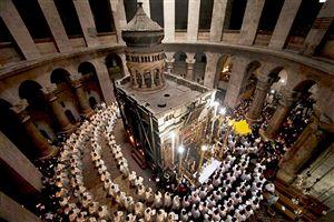 perayaan paskah tahun 2013, di seluruh wilayah, Patriarkat Holy Land