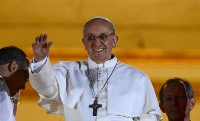 habemus papam, paus baru 2013, fransiskus I, kardinal Jorge Mario Bergoglio dari Argentina