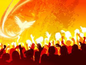 Roh Kudus Penghibur, rm marya, Kamu juga harus bersaksi, karena kamu dari semula bersama-sama dengan Aku
