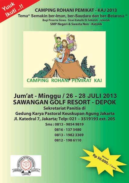 Camping Rohani Pemikat KAJ 2013