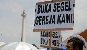 Siti Noor Laila , Bintaro, Tangerang Selatan, Komnas HAM Kecam, Penyegelan Gereja St. Bernadette,