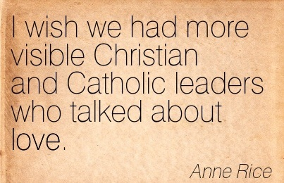 Catholic Leaders Inspiration