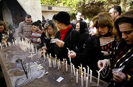Kelompok amal Katolik, para korban konflik di Irak, umat katolik irak