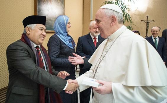 din-syamsuddin-paus-fransiskus-hidupkatolik