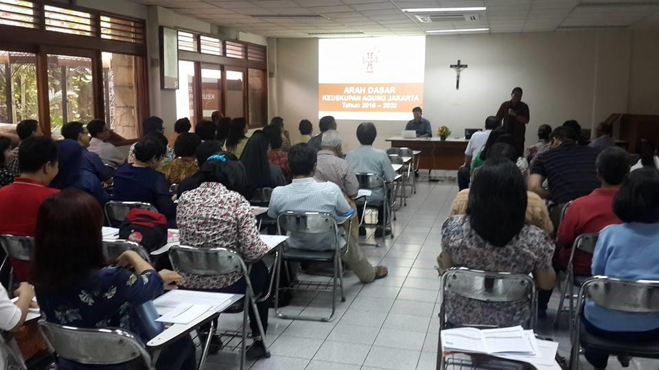 Hari Studi Komisi-komisi KAJ (15/8/2015) (Foto : RD Harry Sulistio)