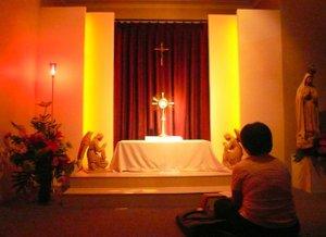 Bagaimana kita melakukan Adorasi Ekaristi Pribadi?