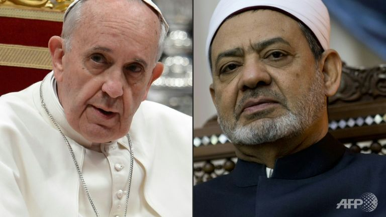 Paus Fransiskus, Tokoh Islam Sunni Mesir, Imam Besar dari Al-Azhar, 23 Mei 2016, Sheikh Ahmed al-Tayeb