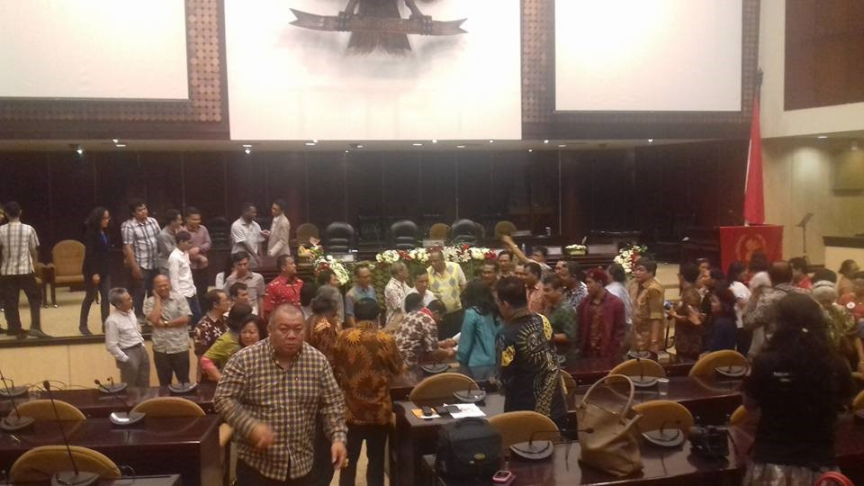 Bambang Ismawan, Setia Budiantoro , J. Kristiadi, sarasehan pancasila, uskup suharyo,
