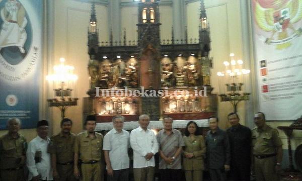 walikota bekasi dan uskup suharyo