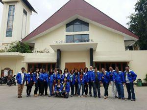 Persiapan berangkat menuju Civita Youth Camp, Ciputat.